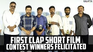 First Clap Short Film Contest Winners Felicitated