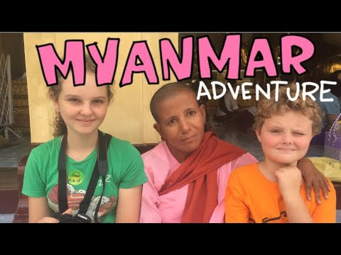 Sea Monkeys in Myanmar Part 1