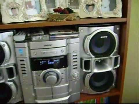 Sony Mhc Gx470 Mini Hifi Component System Youtube
