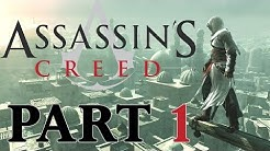 Assassin's Creed [Stream] German - part 1: Erinnerungen der Ahnen