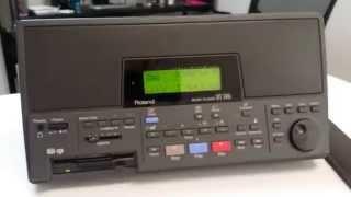 Roland MT-300s Midi Player Test