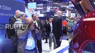 USA: Fisker Inc unveils Tesla-rival at CES 2018 in LA