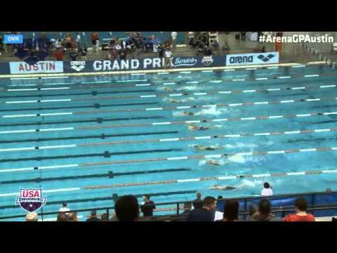 Women's 200 Meter Freestyle Prelims 2014 Arena Grand Prix At Austin