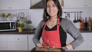 طريقة عمل كيك يقطين بزبدة الفول السوداني | مع فاطمة