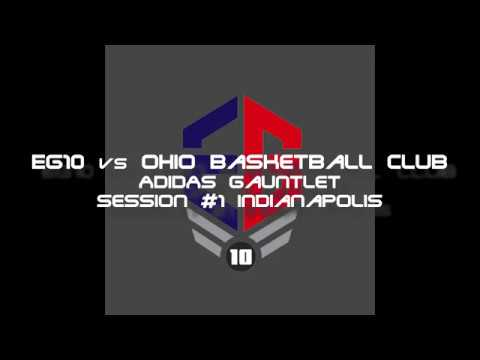 EG10 16U Highlights vs Ohio Basketball Club Adidas Gauntlet