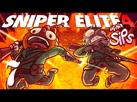 Sniper Elite 4 w/ Sips! [Part 7 ] - BETRAYAL!