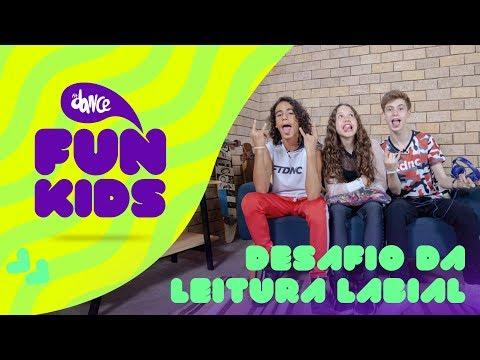 FunKids  Desafio da Leitura Labial ft Lucas Andrade  FitDance Teen & Kids