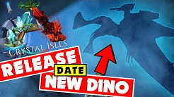 ARK CRYSTAL ISLES Release Date! PS4 XB1 AND PC! New Dino First Look! Ark 5th Birthday Update!