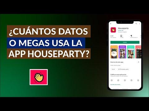 Cuantos Datos o Megas Usa la App de HouseParty