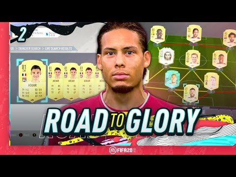 FIFA 20 ROAD TO GLORY #2 - BUYING NEW PLAYERS!