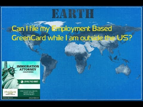 Direct Employment Based Greencard while Outside the USA