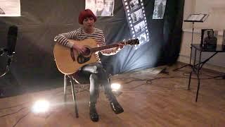 """Ксения Пигаваева - """"Романс"""", выступление на конкурсе песни под гитару """"Ещё не вечер.."""""""