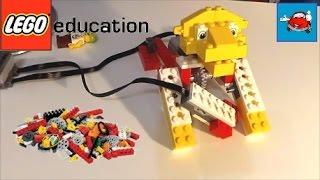 ДЕЛАЕМ ЛЬВА Лего Эдьюкейшн LEGO Education Перворобот WeDo 9580+WeDo 9585