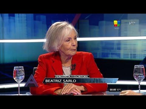 Beatriz Sarlo criticó con dureza al gobierno de Macri