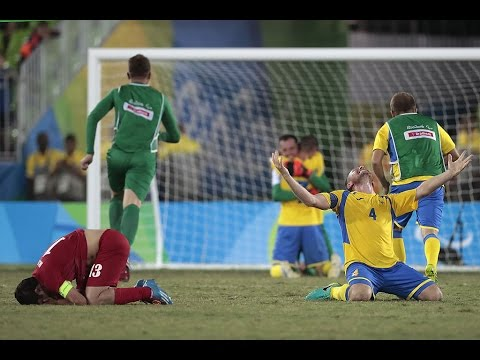 Football 7-a-side | Ukraine v Islamic Repuplic of Iran Gold Medal Match | Rio 2016 Paralympic Games
