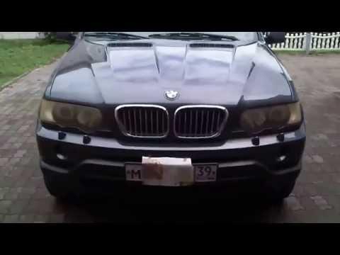 Покраска и полировка фар BMW X5
