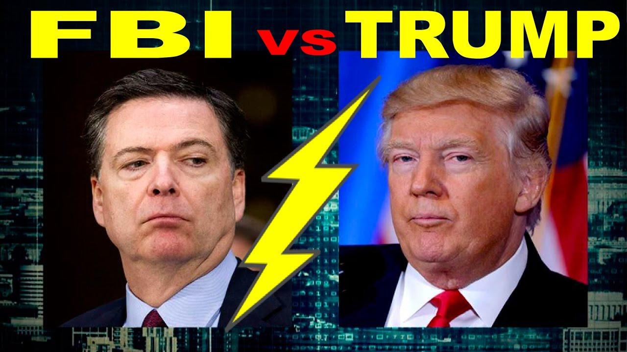 Resultado de imagen de Trump vs FBI