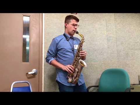 David Leon plays at WLRN
