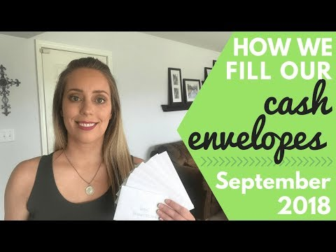 stuffing-our-cash-envelopes-//-how-to-use-the-dave-ramsey-cash-envelope-system-//-september-2018