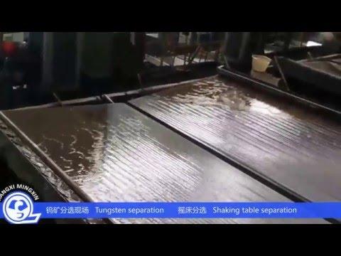 tungsten Mining equipment and plant  from Jiangxi Mingxin
