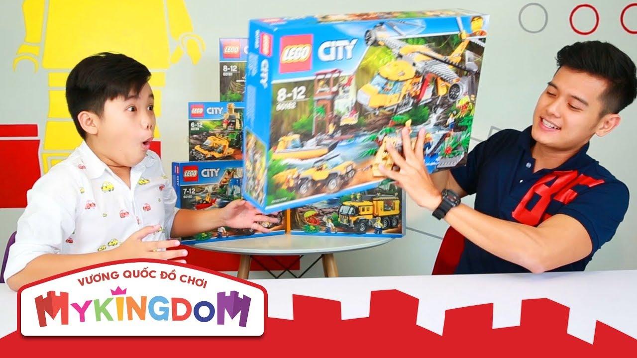LEGO City Jungle | Lắp ráp 60162 – Trực Thăng Vận Tải Cỡ Lớn Thám Hiểm Rừng