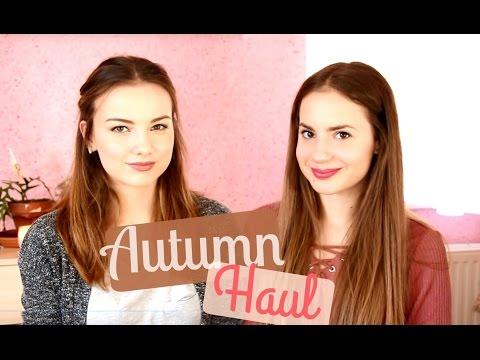 Őszi Haul (+ A NAGY HÍR) | Lina és Panni