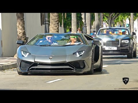 Is Marbella SUPERCAR HEAVEN!? Aventador SV, AMGs, Turbo Predator RS & More!