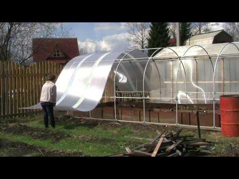 видео: Как построить теплицу