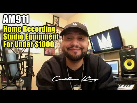 Home Studio Recording Equipment For Under $1000