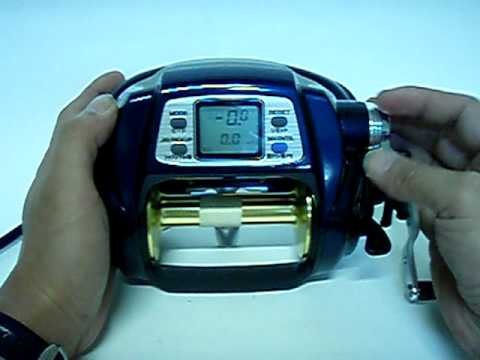 901df65df61 Daiwa Tanacom Bull 1000 Electric Reel - YouTube