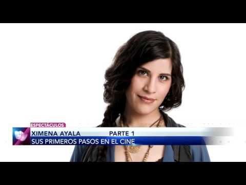 ¡Ximena Ayala nos revela cómo fueron sus primeros pasos en el cine!
