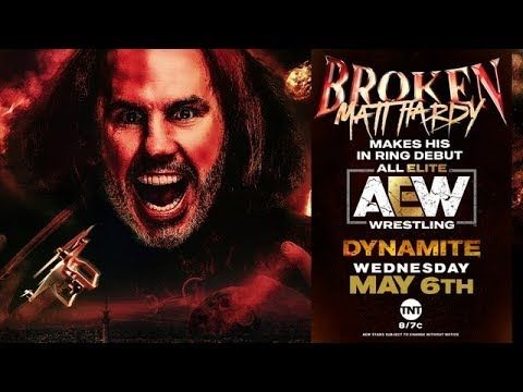 Matt Hardy debuts for AEW
