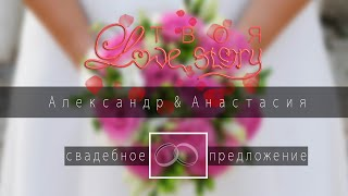 Александр & Анастасия - свадебное предложение