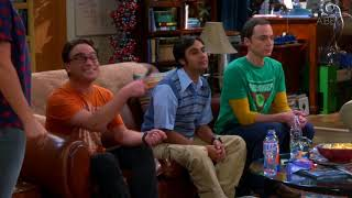 Big Bang Theory:- Howard is training for his first pitch in a Baseball Game