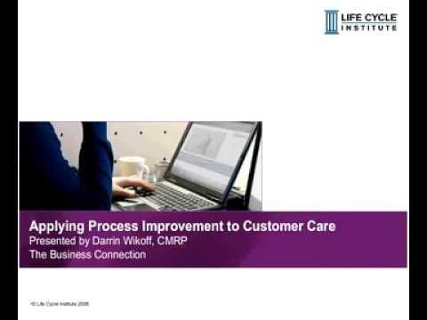 Applying Process Improvement to Customer Care - Webinar