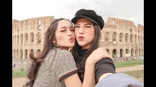 Europe Trip With The Gf, Nabila Gardena  Part I  - Cindy Priscilla