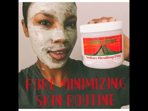 Clean Face Routine ft. Aztec Healing Clay