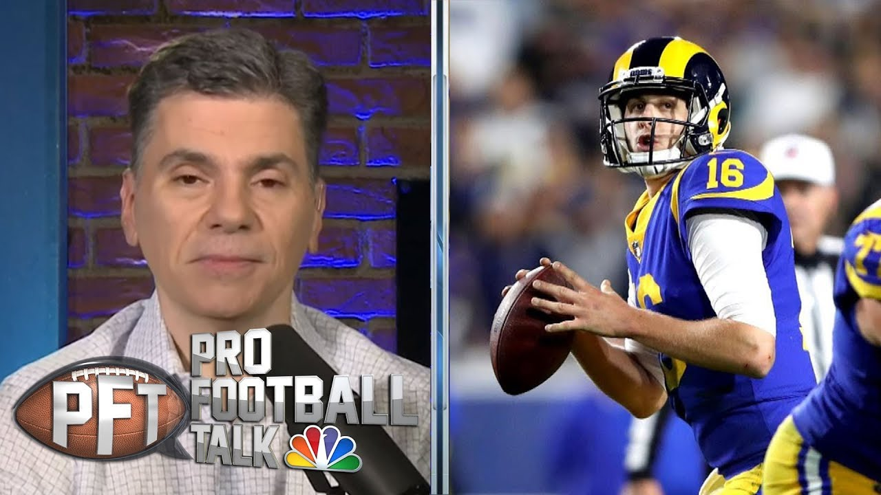 Sean McVay praising Jared Goff with no deal in sight | Pro Football Talk | NBC Sports