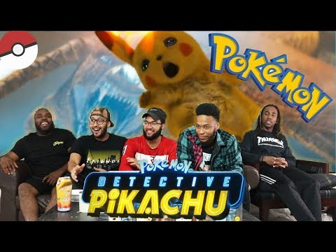 POKÉMON Detective Pikachu Official Trailer #1 REACTION