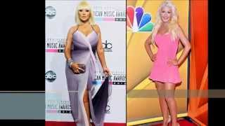 Celebrities' Weight Loss and Transformations  Before and After