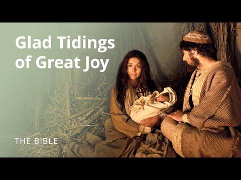 Glad Tidings Of Great Joy The Birth Of Jesus Christ