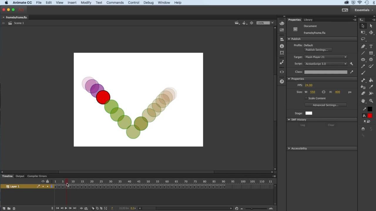 Nett Frame Für Frame Animation Software Zeitgenössisch ...