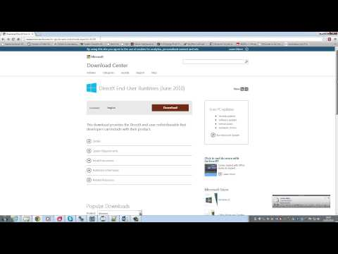 You Need To Install DirectX 10 June 2007 Or Later - FPSC V1 Video FAQ
