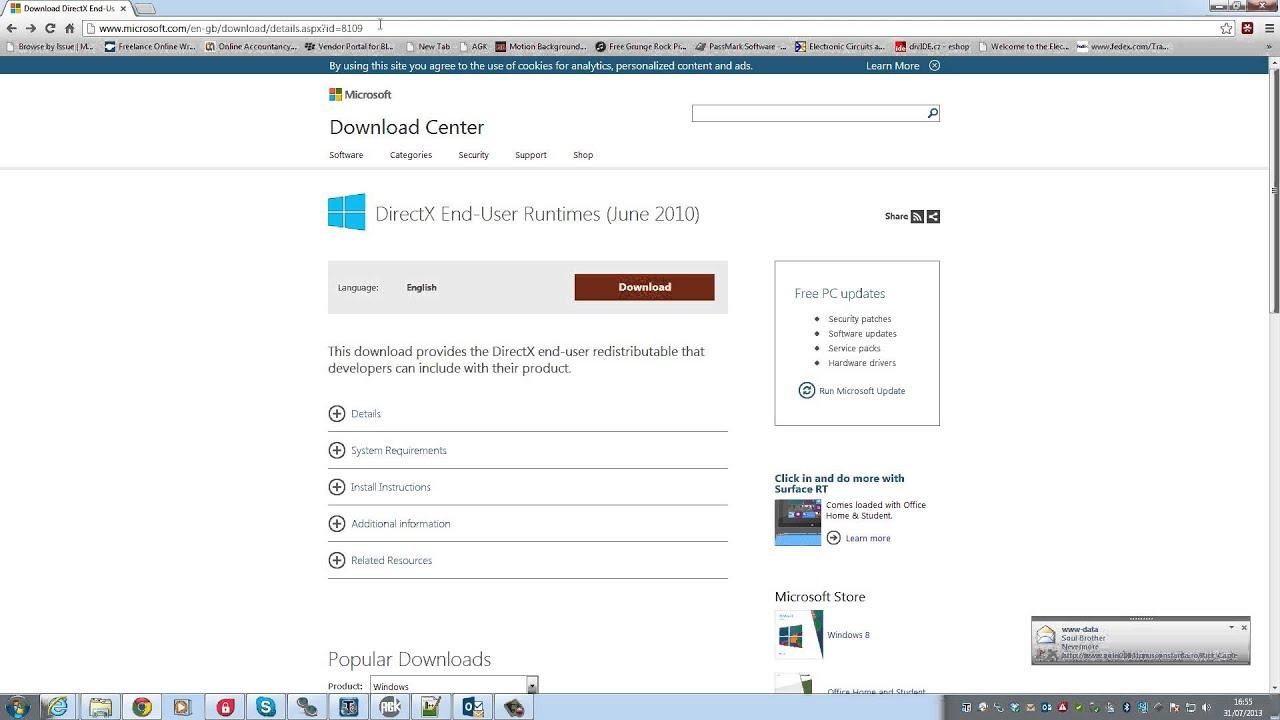 microsoft directx 10 free download