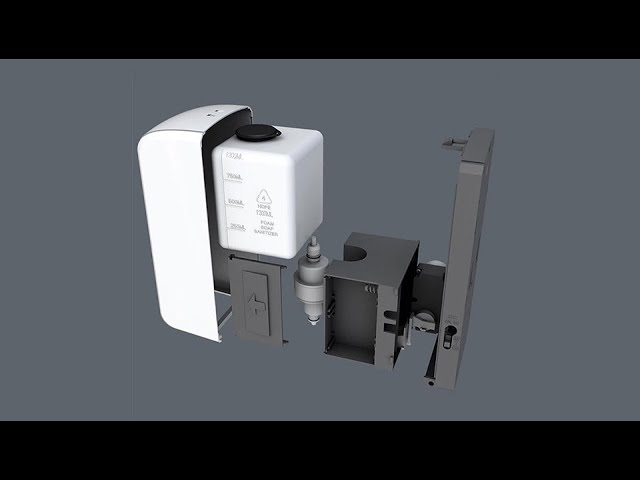 DIY Touchless Wall Mounted Automatic Induction Soap Dispenser