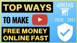 Top ways to make extra free money online fast 2020! (part 1) ✅ our #1 way for a full-time income with account 👉 https://bit.ly/174perday-free-training...