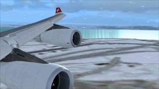 Good Morning Geneva! Swiss Airbus A340 [FS2004]