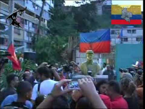 COORDINADORA SIMON BOLIVAR PLAZA MARULANDA FARC-EP 3/3 23 DE ENERO CARACAS VENEZUELA
