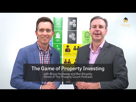 The Game of Property Investing - What is it? The Property Couch Podcast