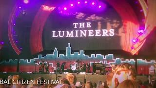THE LUMINEERS at the Global Citizen Festival 2017 NY
